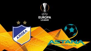 Europa League Astana vs APOEL