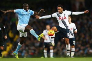 Premier League Tottenham vs Manchester City