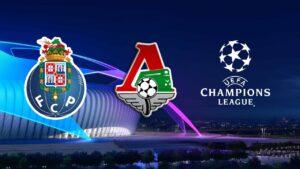 Porto vs FC Lokomotiv Moscow Champions League