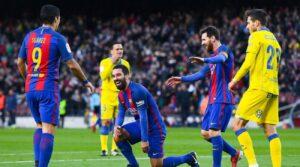 soccer prediction Las Palmas - Barcelona