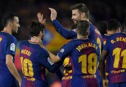 Champions League Barcelona – AS Roma 4 April 2018