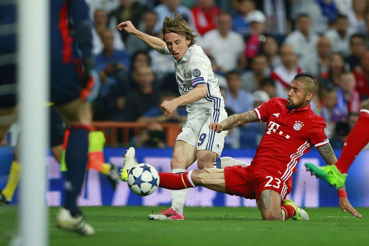 Real Madrid Bayern Munchen