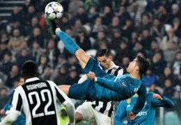 Champions League Real Madrid vs Juventus 11 April 2018
