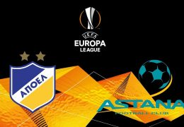 Europa League Astana vs APOEL  30/08/2018