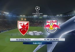 Champions League Red Star vs Salzburg 21/08/2018