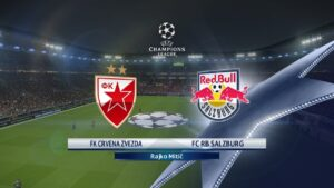 Champions League Red Star vs Salzburg