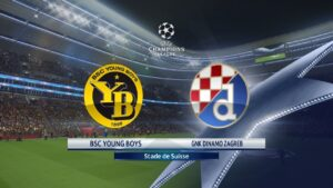 Champions League Young Boys vs Dynamo Zagreb
