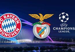Bayern Munich vs Benfica Champions League 27/11/2018