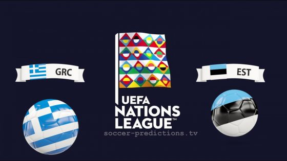 Greece vs Estonia UEFA Nations League 18/11/2018