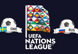 Sweden vs Russia UEFA Nations League 20/11/2018