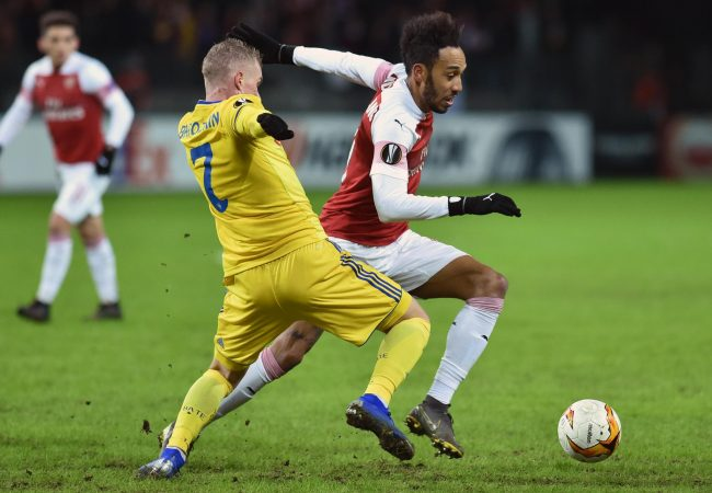 Arsenal vs Bate Borisov Soccer Predictions  21 February 2019