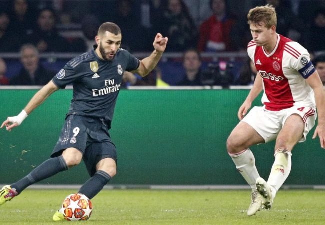 Real Madrid vs Ajax Amsterdam Soccer Predictions 5 March 2019