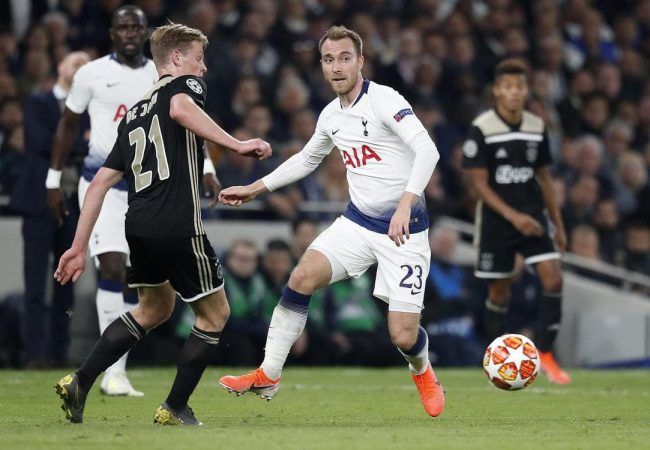 Ajax vs Tottenham Soccer Predictions 8/05/2019